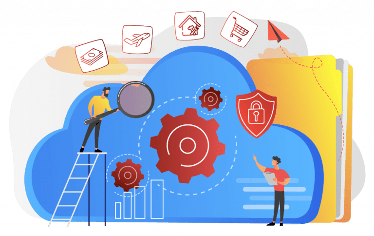 securing microservices illustration